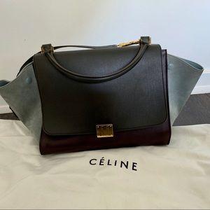Celine Bags - CELINE Tricolor Trapeze